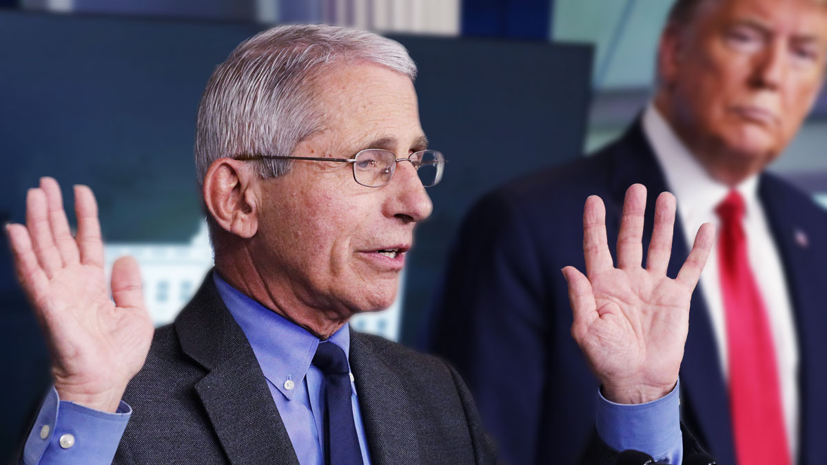 Anthony Fauci, promotes questionable pandemic drugs
